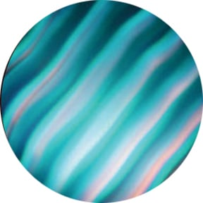 ColorWaves Cyan Waves Glass Gobo