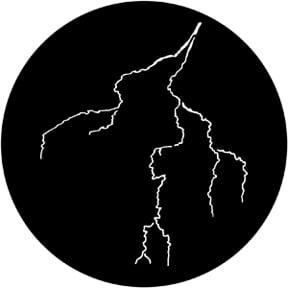 Lightning 6 Gobo
