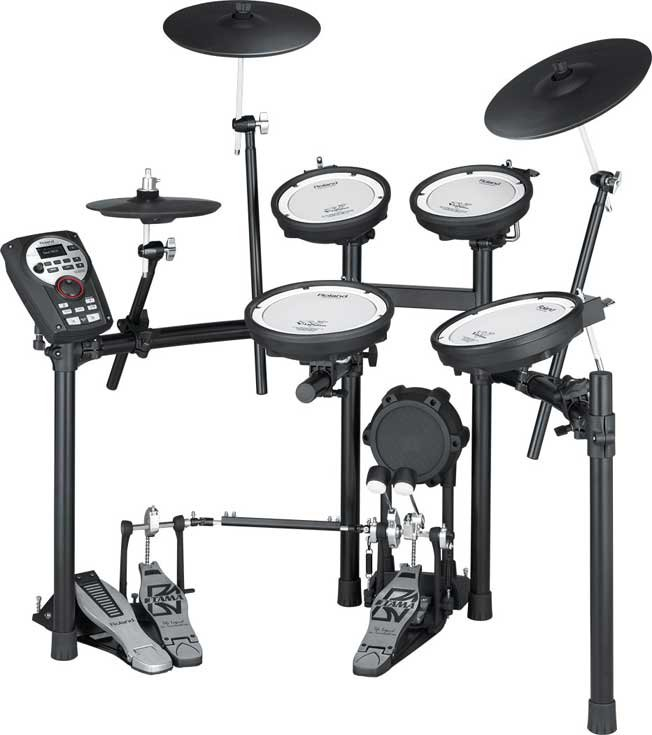 V-Drums V-Compact Series Electronic Drum Kit with MDS-4V Stand