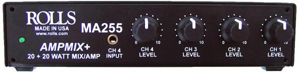 20W/Ch Class D Stereo Mixer Amplifier with Power Supply