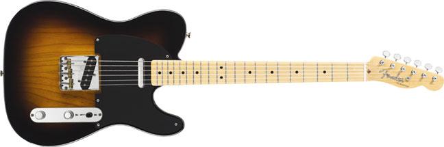 Fender Classic Player Baja Tele, 2-Tone Sunburst Telecaster, 014-1502-303 TELE-CP-BAJA-2BURST