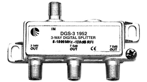 Splitter, Digital-Ready, 3-way