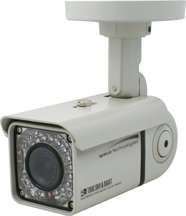 Weather Resistant Day/ Night Square Bullet IR Camera