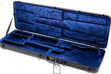 Hardshell Electric Bass Case for Stiletto Basses