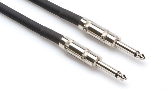 """Hosa SKJ-650 Speaker Cable, 1/4"""" to 1/4"""", 16 AWG x 2, 50 Feet SKJ650"""