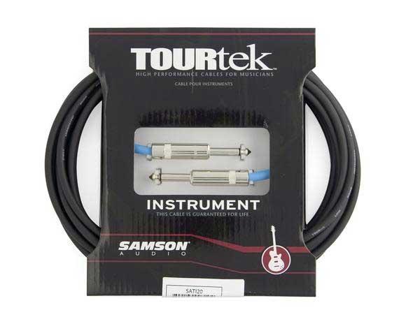 Samson TI20 Instrument Cable 20 ft Tourtek SATI20 TI20-SAMSON