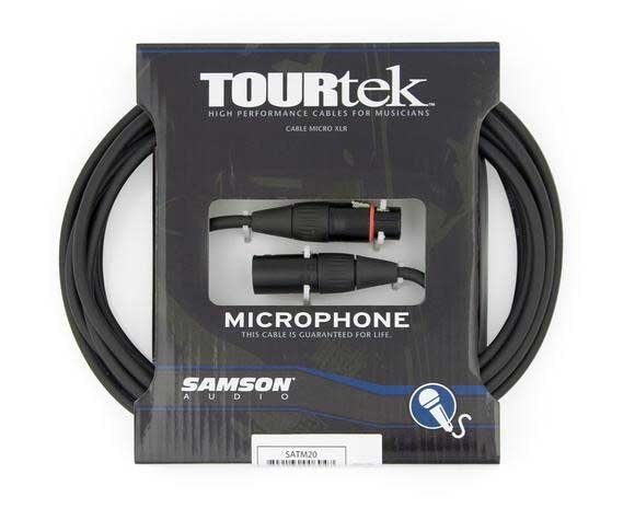 TourTek Mic Cable, 20 ft
