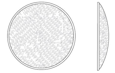 ETC/Elec Theatre Controls 400-NSP Narrow Spot Lens 400-NSP