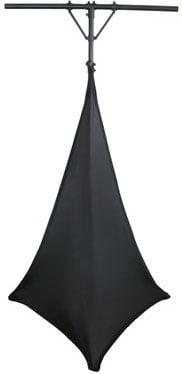 "Scrim Werks™ Dual 52"" x 68"" Section Black Tripod Scrim"