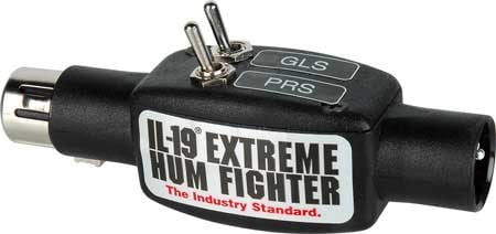 Sescom IL-19-PRS-GLS  Iline Pro Audio Hum Eliminator w/ISO IL-19-PRS-GLS