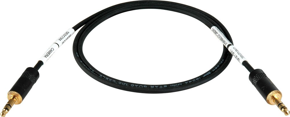"""1/8"""" Cable DSLR to H4N, -25dB Pad"""