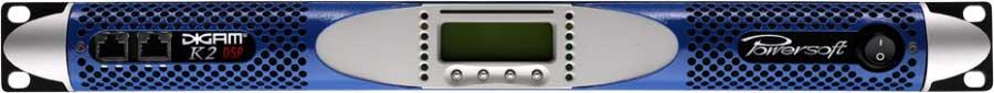 Powersoft Advanced Tech DIGAM K2 2-Channel Power Amp, 2x 2400W @ 2 Ohms DIGAM-K2