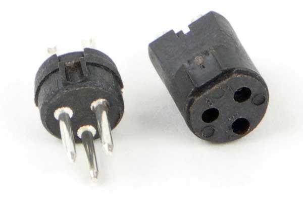 Tini QG Insert, 4 pin Female
