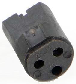Switchcraft TQG5F 5-Pin Female TQG Insert Connector TQG5F