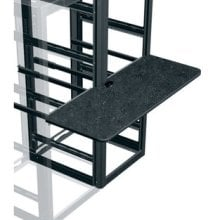 Middle Atlantic Products WS2-S18-GBF Two-Bay Writing Shelf WS2-S18-GBF
