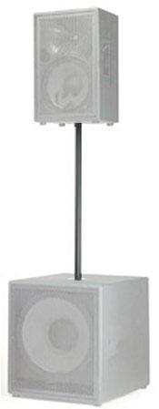 Speaker Pole for EV SBA750, Black