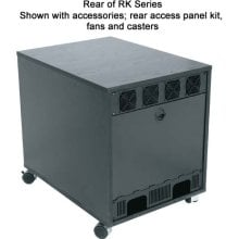 12 RU Rear Access Rack Panel for RK Series Racks