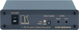 1:5 Audio Distribution Amplifier