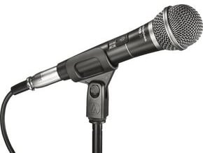 "Cardioid Dynamic Handheld Microphone with 15' 1/4"" Cable"