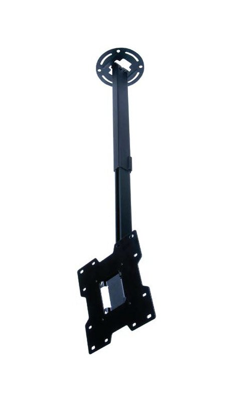 """15""""-37"""" Black Ceiling Mount for LCD Screens"""