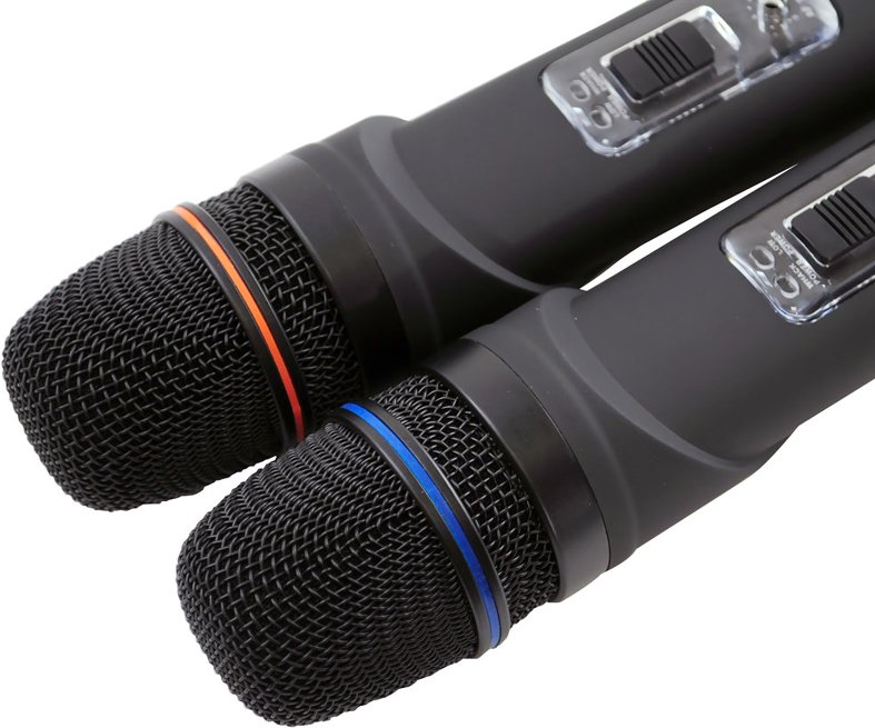 Dual Channel UHF Wireless Microphone System