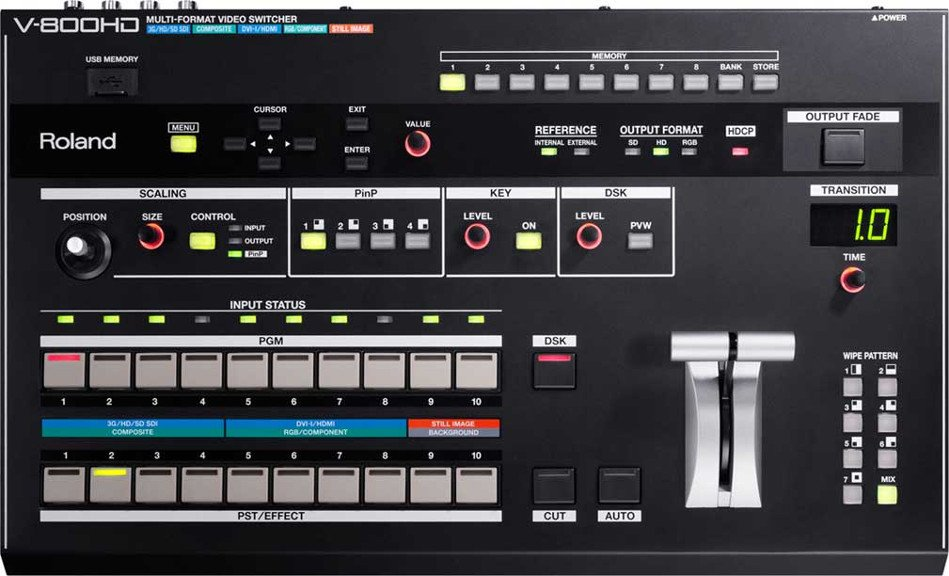 Multi-Format Live Video Switcher