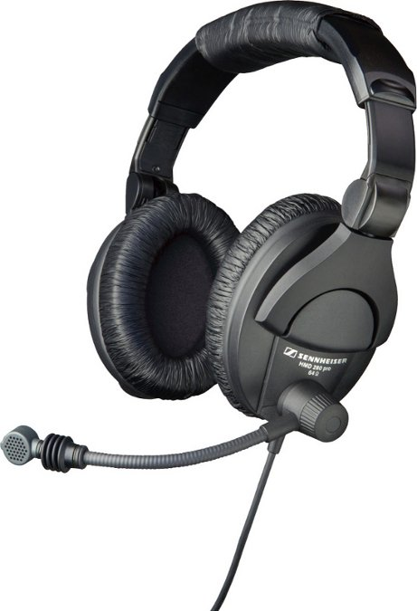 "Sennheiser HMD 280-XQ2 Dual-Ear Communication Headset with Supercardioid Microphone and XLR & 1/4"" Connectors HMD280-XQ2"