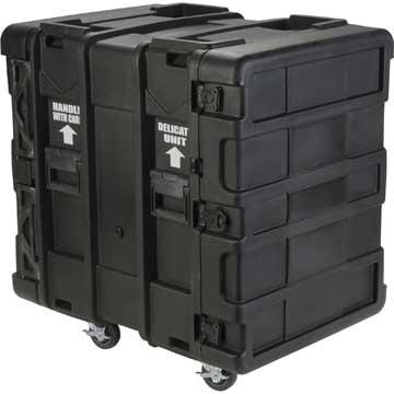 "14U Roto Shockmount Rack Case, 24"" Deep"