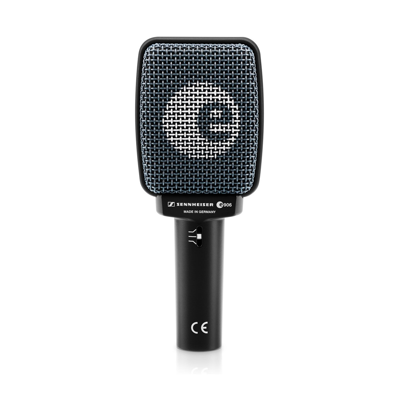 sennheiser e906 supercardioid dynamic microphone for guitar amplifiers full compass systems. Black Bedroom Furniture Sets. Home Design Ideas