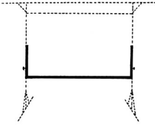 Fast-Fold® Adjustable Skirt Bar for 6' x 8' Screens