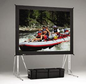 Da-Lite 87323 9' x 16' Fast-Fold® Truss Frame Dual Vision Replacement Surface 87323