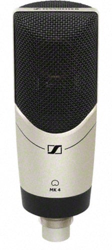 Large Diaphragm Side Address Mic w/Shockmount