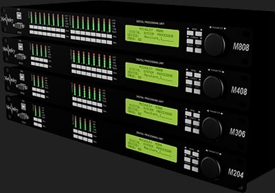 4-In, 8-Out Loudspeaker Controller