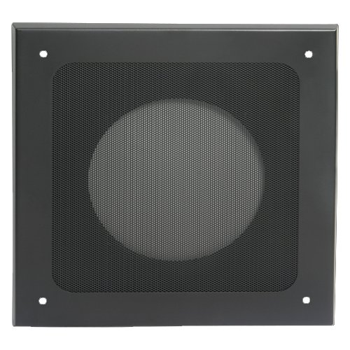 "Deluxe Steel Baffle, 8"", Black"