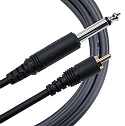 "10 ft. Pure Patch RCA to TS 1/4"" Cable"