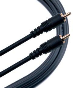 Cable RCAto RCA Mono, 20-ft