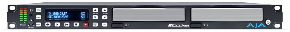 Rackmount Digital File Recorder WITHOUT Storage Modules