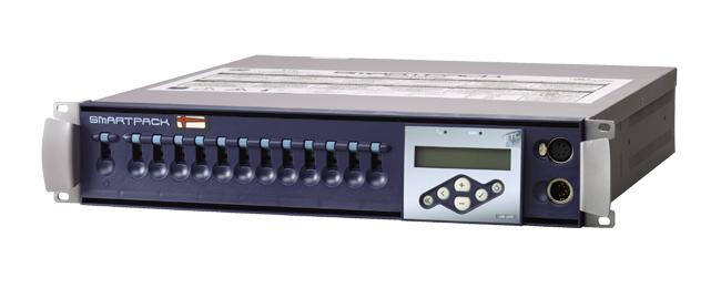 12 Channel, 10 Amp, PowerCon Connectors