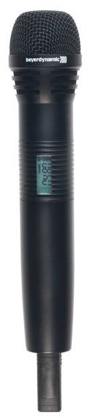 Handheld Transmitter, with DM 960 B Microphone Capsule