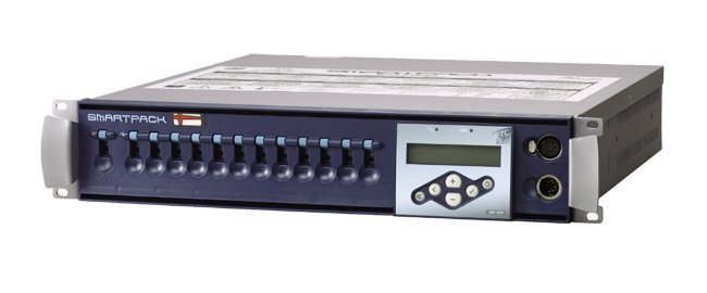 Portable Packs, 12 Channel, 10 Amp, Dual 6-Circuit Multi-pin Connectors