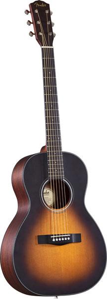 Sunburst Classic Design Parlor Acoustic Guitar