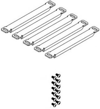Altinex CN5010RB 5 Retaining Brackets for Cable Nook CN5010RB