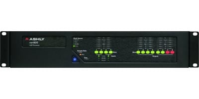 4 AES3 In & 8 AES3 Out Audio Processor