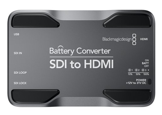 SDI to HDMI Mini Converter with Battery