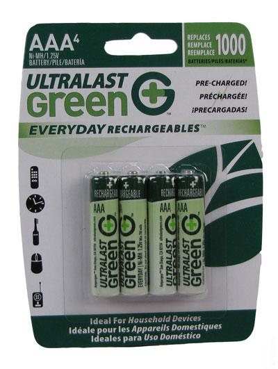 Batteries, AAA 4pk