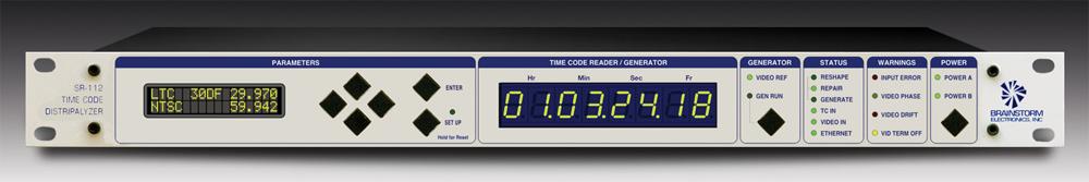 Time Code Distripalyzer