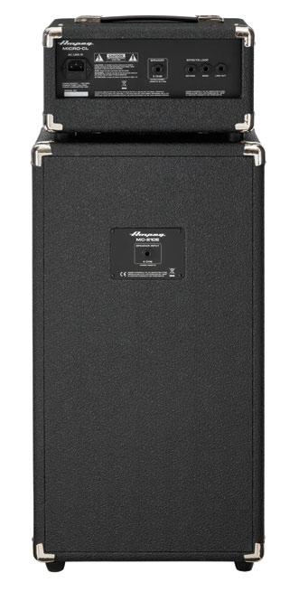 """100W 2x10"""" Bass Piggyback Amplifier"""