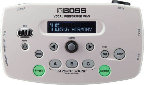 Vocal Effects Processor, White
