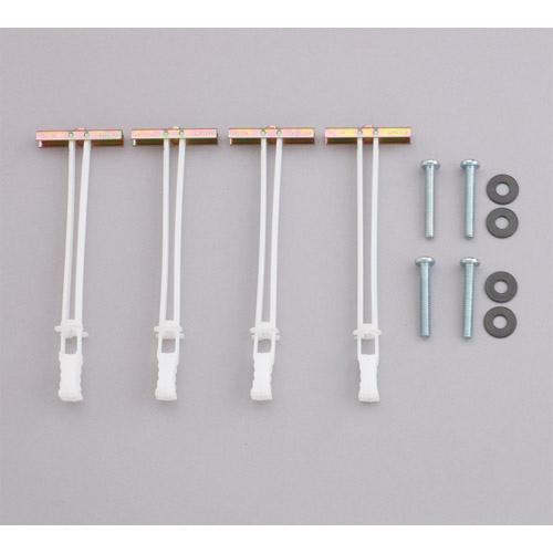 Steel Stud Anchor Kit, 28 pc