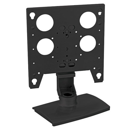 Flat Panel Table Stand, Black